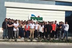 Pınar Süt Teknik Gezisi